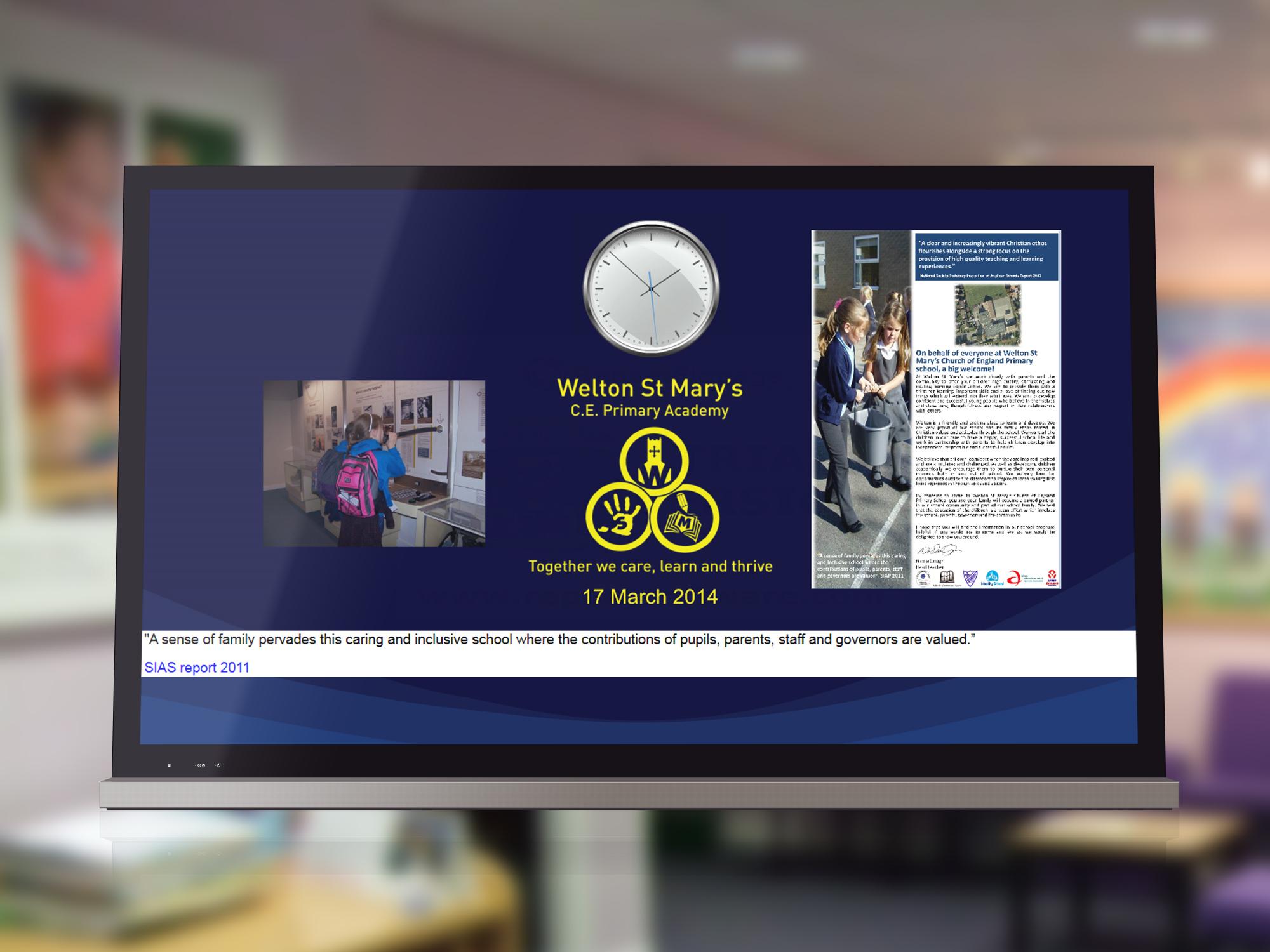 welton primary digital signage2